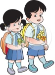 1052864-Royalty-Free-Vector-Clip-Art-Illustration-Of-School-Kids-Carrying-Flowers-2[1]
