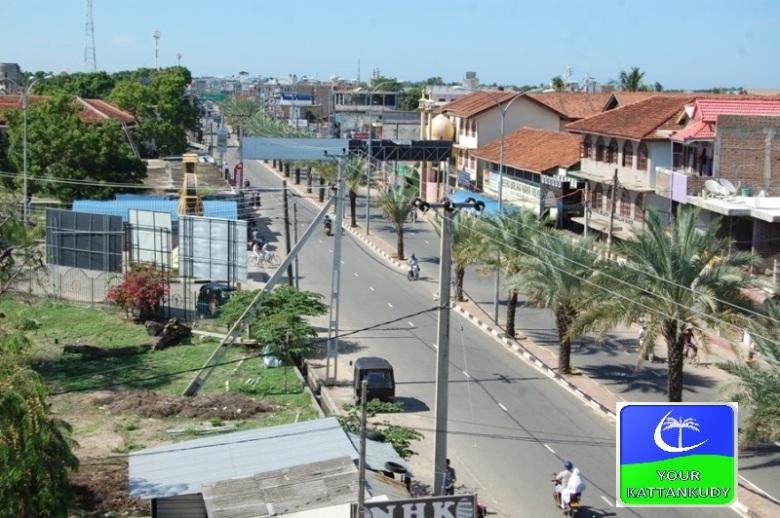 kattankudy main road