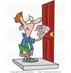 knocking door
