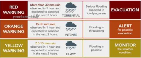 rain weather alert